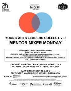 Mentor Mixer Monday Poster